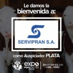 EXPOPERULACTEA 2019 da la Bienvenida a: Servipran como Auspiciador Plata