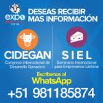 Sector Lechero Peruano tendrá Encuentro Internacional de Capacitación y Negocios en Expoperulactea 2019