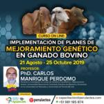 Curso On Line: Implementación de Planes de Mejoramiento Genético en Ganado Bovino
