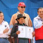 Día del Campesino: Gobierno entrega 2,527 títulos de predios rurales