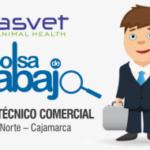 Laboratorio Asvet: Solicita Asesor Técnico Comercial para Cajamarca