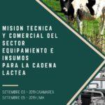 Misión Técnica y Comercial del Sector Equipamiento e Insumos para la Cadena Láctea