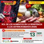 Videoconferencia EN VIVO: Rol de los Alimentos en la Resistencia a los Antimicrobianos