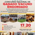 Programa: Feria Ganadera Fondgicarv Perú 2019