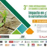 3er Foro Internacional en Cambio Climático