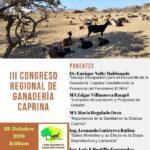 III Congreso Regional de Ganadería Caprina