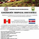Segundo Taller Internacional Ganadería Tropical Sostenible