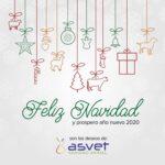 Asvet Sanidad Animal Les desea una Feliz Navidad y Prospero año 2020
