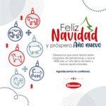 Laboratorio Biomont Les desea Feliz Navidad y Próspero Año Nuevo