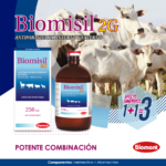 Biomisil 2G, potente combinación contra parásitos