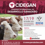 Congreso Internacional De Desarrollo Ganadero - CIDEGAN 2020