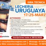 Gira Técnica: Lechería Uruguaya 2020