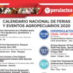 Calendario Nacional de Ferias y Eventos Agropecuarios en el Perú para el 2020