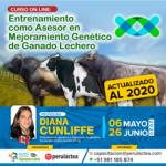 Entrenamiento como Asesor en Mejoramiento Genético de Ganado Lechero