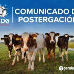 EXPOPERULACTEA 2020: Comunicado de Postergación