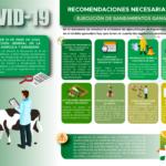 Recomendaciones para ejecutar los saneamientos ganaderos ante Coronavirus