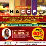 Curso On Line: HACCP - Integración Práctica Bajo Nuevas Exigencias Normativas 2020