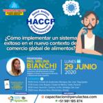 Webinar Gratuito: HACCP - ¿cómo implementar un sistema exitoso en el nuevo contexto del comercio global de alimentos?