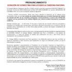 Donación de Ivermectina para Atender la Pandemia Nacional