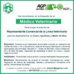 Empresa Requiere Médico Veterinario como Representante de Ventas