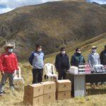 Pasco: En Tambo Yanacachi entregan kits veterinarios para cuidado de 50 mil cabezas de ganado