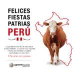 Felices Fiestas Patrias les desea Agrovet Market