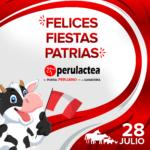 Perulactea les desea Felices Fiestas Patrias