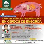 Charla Magistral: Digestibilidad Ileal de Aminoácidos en Cerdos de Engorda