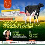 Curso On Line: Asesor en Mejoramiento Genético de Ganado Lechero 2021