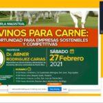 Videoconferecia: Ovinos para Carne Oportunidad para Empresas Sostenibles y Competitivas