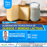 Curso On Line: Elaboración Tecnológica de Quesos y Bebidas Lácteas