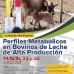 CURSO: Perfiles Metabólicos en Bovinos de Leche de Alta Producción