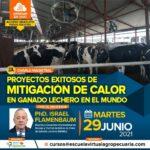 Webinar Gratuito: Proyectos Exitosos de Mitigación de Calor en Ganado Lechero en el Mundo