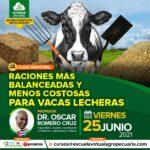 """Webinar Gratuito: """"Raciones más Balanceadas y Menos Costosas para Vacas Lecheras"""""""