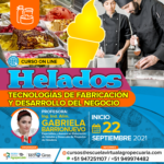 Curso On Line: Helados - Tecnologías de Fabricación y Desarrollo del Negocio