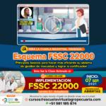 Videoconferencia: Esquema FSSC 22000 Principios Básicos para hacer más eficiente su sistema de gestiónde inocuidad y lograr la certificación