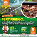 Webinar Gratuito: Una Estrategia Tecnológica para la Nutrición Hídrica y Mineral de los Cultivos Agrícolas
