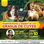 Curso On Line: Implementación y Gestión de una Granja de Cuyes